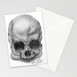 Shadow Skull Stationery Cards