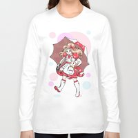 puppycat Long Sleeve T-shirts featuring Bubbles!  by Jack Husky