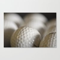 golf Canvas Prints featuring Golf by B.P.