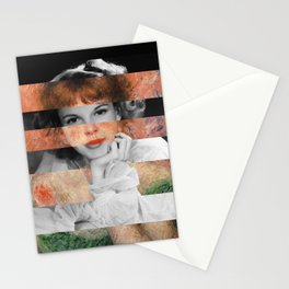 Renoir's Jeanne Samary in a low necked dress & Judy Garland Stationery Cards