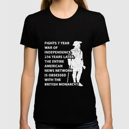The American Revolution War Of Independence T-shirt