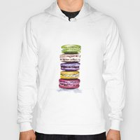 macarons Hoodies featuring Macarons by Bridget Davidson