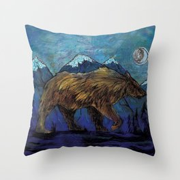 The Sleepwalker Throw Pillow