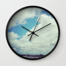 Oklahoma Road Trip Wall Clock