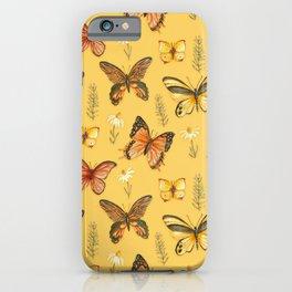 Butterfly Totem Pattern iPhone Case