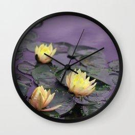 tinker bell & tiger lilies Wall Clock