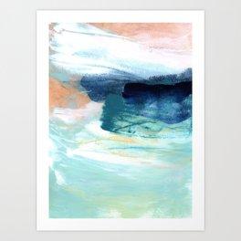 brushstrokes 14 Art Print