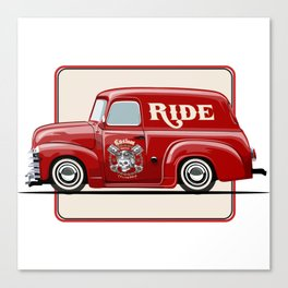 little cute truck Canvas Print