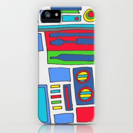 cool boys like epic droids iPhone Case