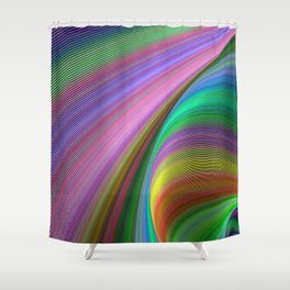 Rainbow dream Shower Curtain