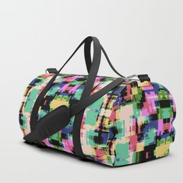 80s 90s Abstract Duffle Bag