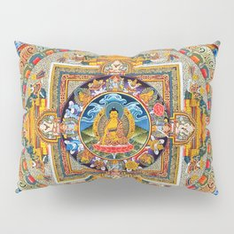 Mandala Buddhist 5 Pillow Sham