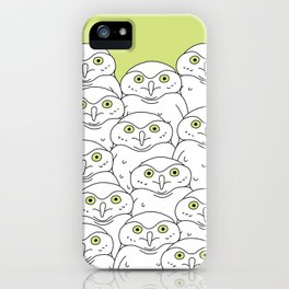 Group of Owls iPhone Case