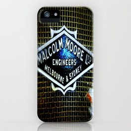 Train Grill iPhone Case