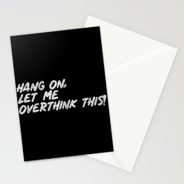 hang on Stationery Cards