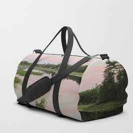 Pennamaquan River at Sunset Duffle Bag