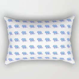 8Bit Jellies Rectangular Pillow