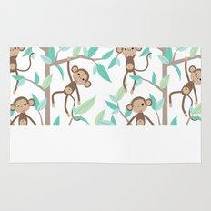 Monkey Jungle Rug