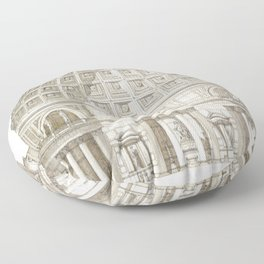 Pantheon Of Rome Floor Pillow