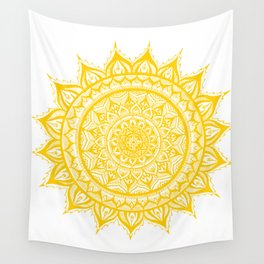 Sunflower-Yellow Wall Tapestry