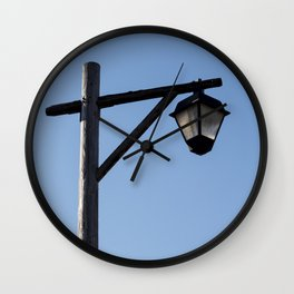 Light And Post Wall Clock
