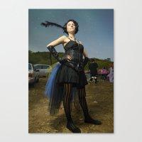 burlesque Canvas Prints featuring Burlesque by Flashbax Twenty Three