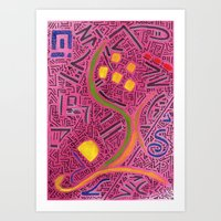 RAYCLEST 8 Art Print