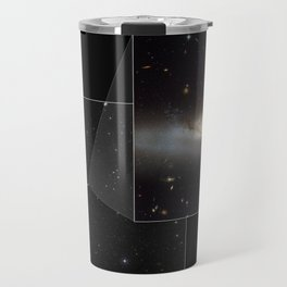 Hubble Space Telescope - Composite image showing NGC 4522 within its home cluster Travel Mug