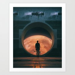 NEW HOME (everyday 03.18.18) Art Print