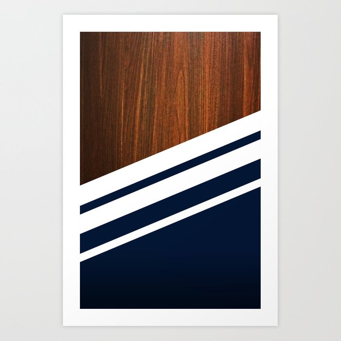 Wooden Navy Kunstdrucke