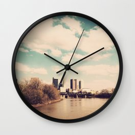 Columbus Ohio 2 Wall Clock