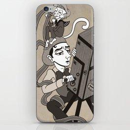 Buster Keaton The Cameraman iPhone Skin