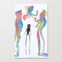 Just Different Canvas Print