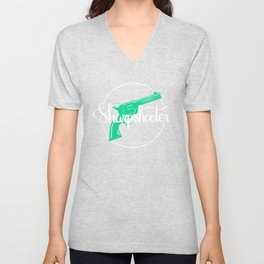 The Sharpshooter Unisex V-Neck