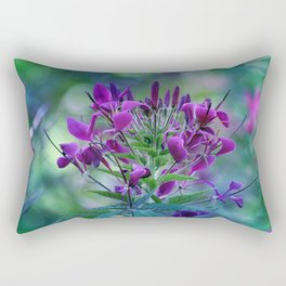 Vision in Purple Rectangular Pillow