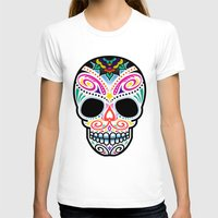 mexican T-shirts featuring Mexican Skull by Blank & Vøid