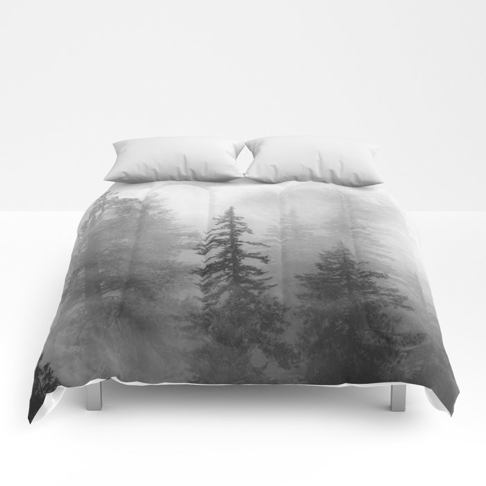 Forest In The Clouds - Nature Photography Comforters