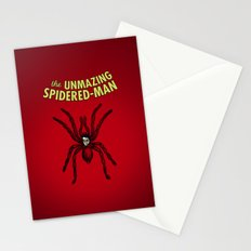 The Unmazing Spidered-Man Stationery Cards
