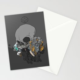 The Four Horsemen of the Apocalypse (Black) Stationery Cards