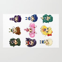 Sailor Scouts Rug