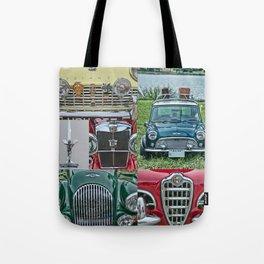 European Autos Tote Bag