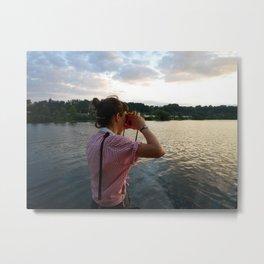 Sea Lady, See!—photo of wonderment Metal Print
