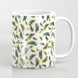 Coloured Falling Feathers Coffee Mug