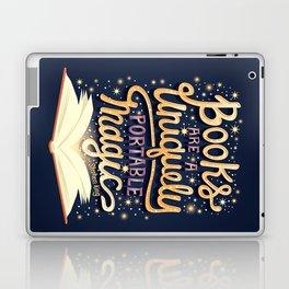 Books are magic Laptop & iPad Skin