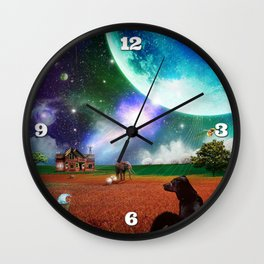 A Most Unusual Evening Wall Clock