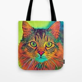 AnimalColor_Cat_ 011_by_JAMColors Tote Bag