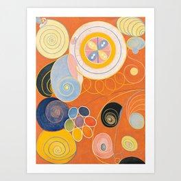 The Ten Largest, Group IV, No.4 by Hilma af Klint Art Print