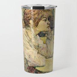 Henri De Toulouse Lautrec - The Hangover Travel Mug