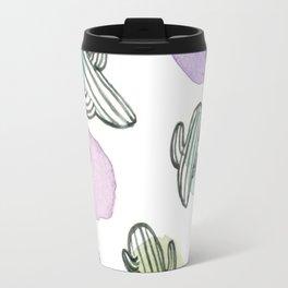 Watercolor Cacti Travel Mug
