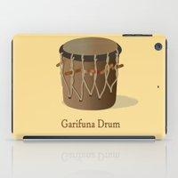 drum iPad Cases featuring Garifuna Drum by Afro-latin Publishing